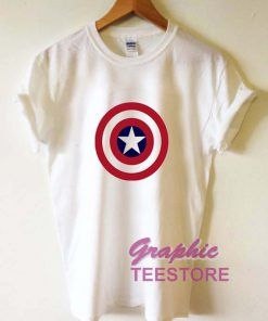Captain America Graphic Tee Shirts
