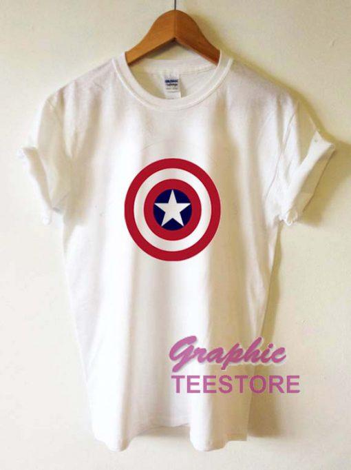 Captain America Graphic Tee Shirts
