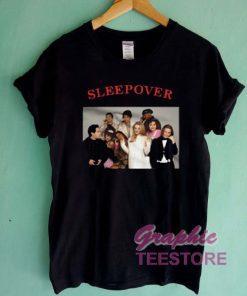 Clueless Cast Sleepover Graphic Tee Shirts