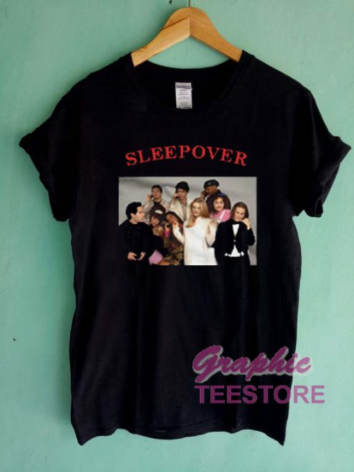 Clueless Cast Sleepover Graphic Tee Shirts