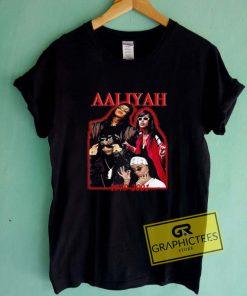 AAliyah 1979 2001 Graphic Tee Shirts
