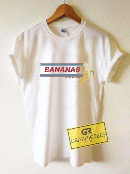 Bananas In The Bahamas Graphic Tee Shirts
