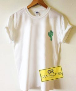 Cactus Mini Art Graphic Tee Shirts