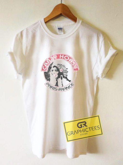 Crazy Horse Paris France Graphic Tee Shirts