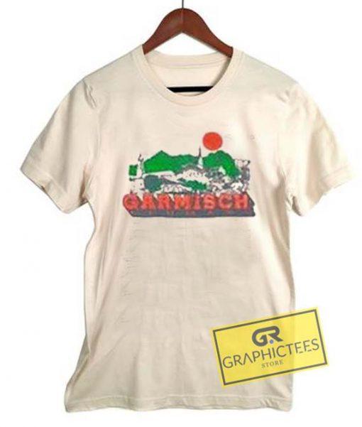 Garmisch Vintage Graphic Tee Shirts