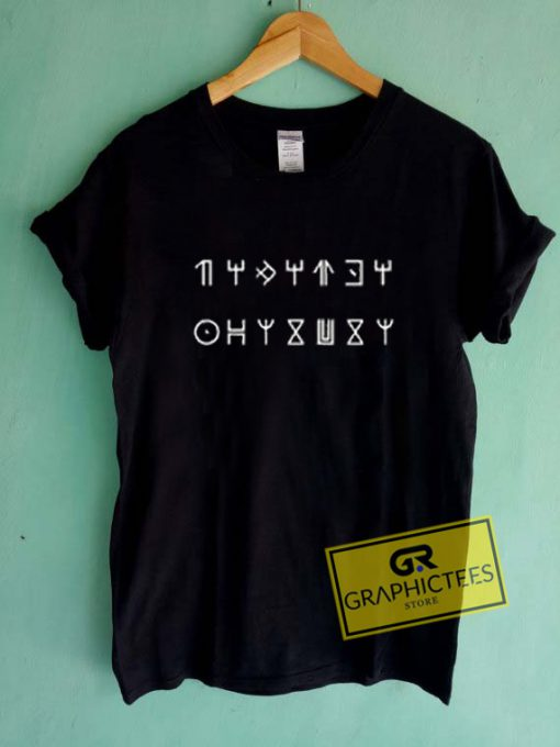 Greek Symbol Wakanda Graphic Tee Shirts