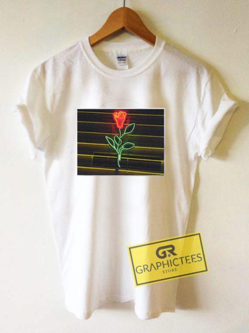 LA Rose Graphic Tee Shirts