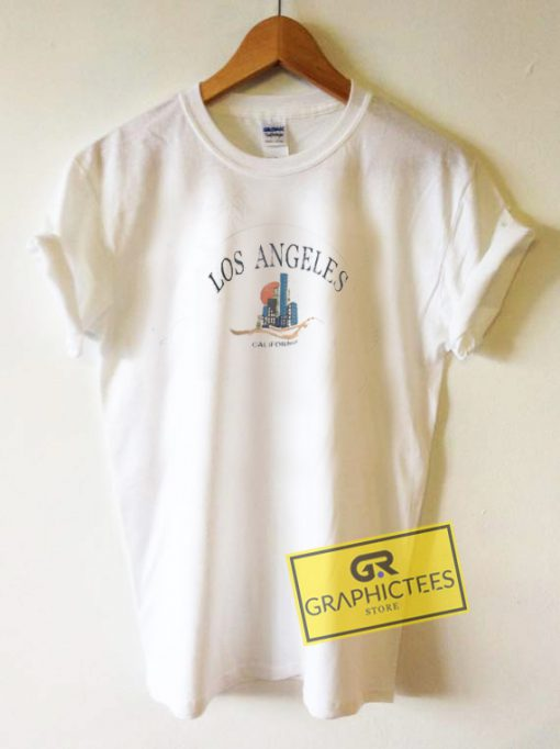 Los Angeles California Vintage Graphic Tee Shirts