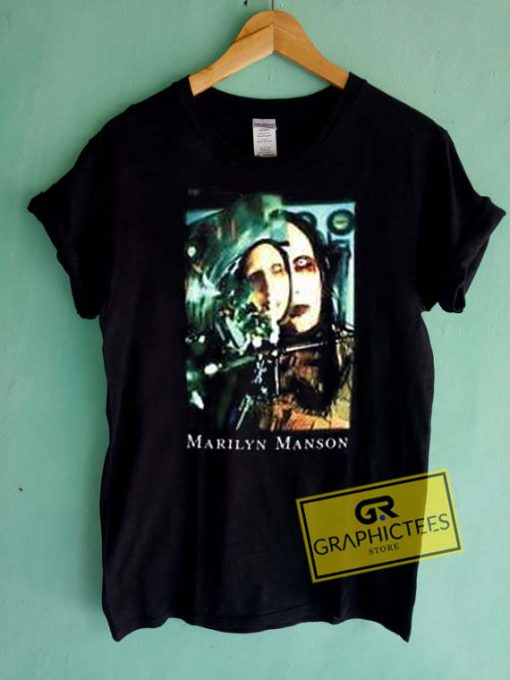Marilyn Manson Vintage Graphic Tee Shirts