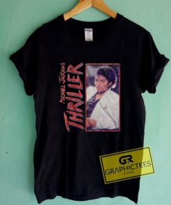 Michael Jackson Thriller Vintage Graphic Tee Shirts