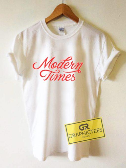 Modern Times Graphic Tee Shirts