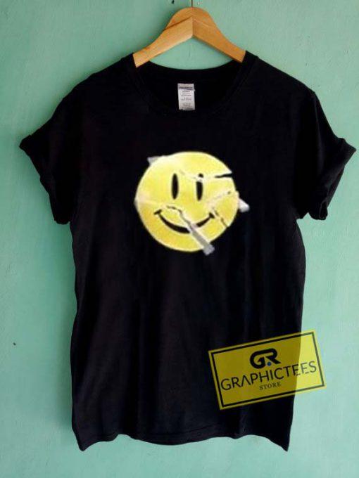 Smiley Break Graphic Tee Shirts