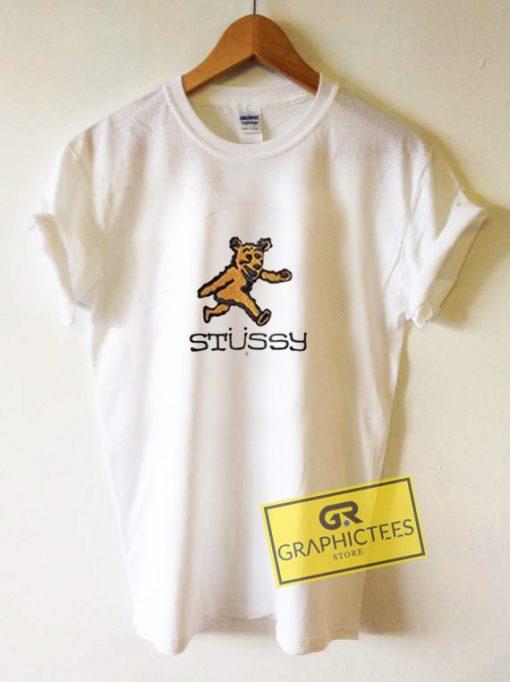 Stussy WMNS Bear Graphic Tee Shirts