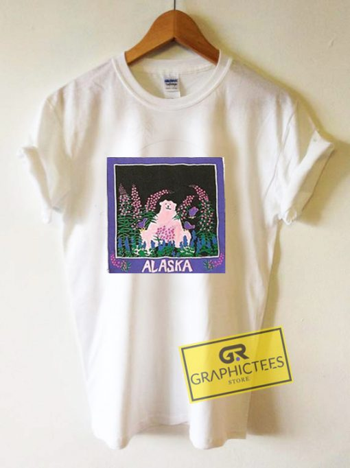 Alaska Art Graphic Tee Shirts