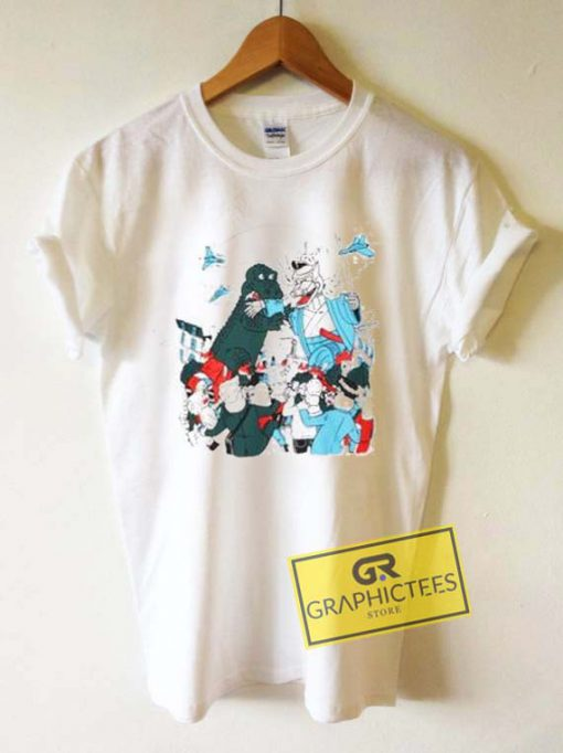 Lacoste Live Art Graphic Tee Shirts