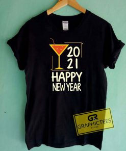 2021 Happy New Year Lime Tee Shirts