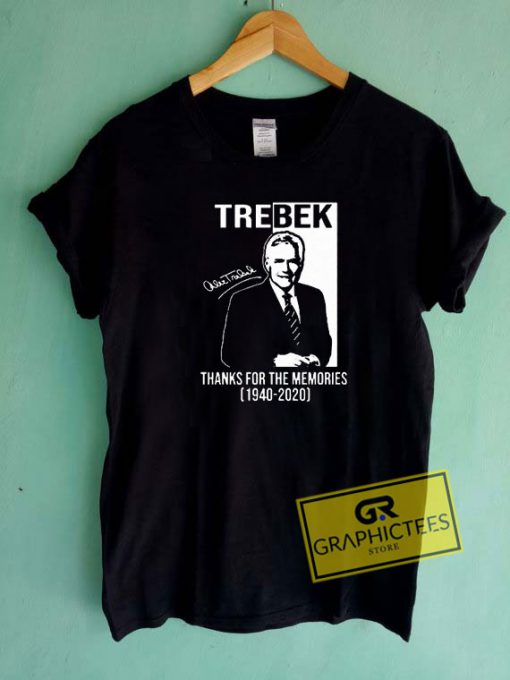 Alex Trebek Signature Tee Shirts