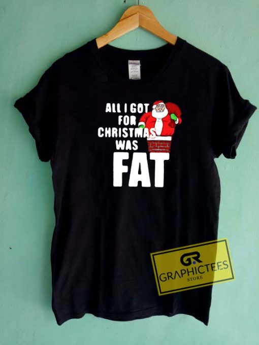 All I Got For Christmas Was Fat Tee Shirts