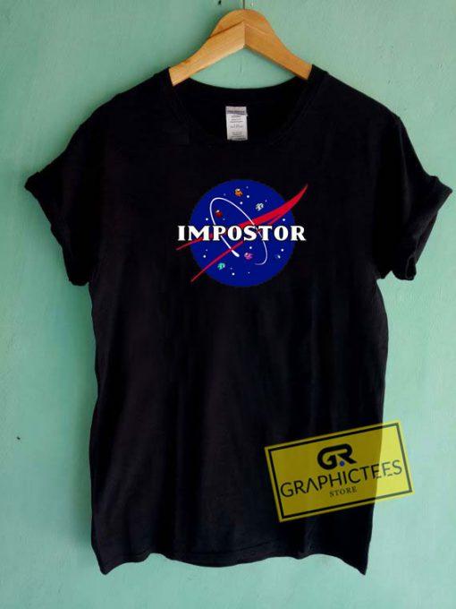 Among Us Impostor Tee Shirts