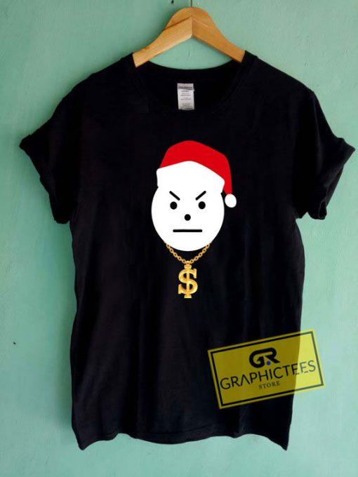 Angry Snowman Santa Hat Tee Shirts