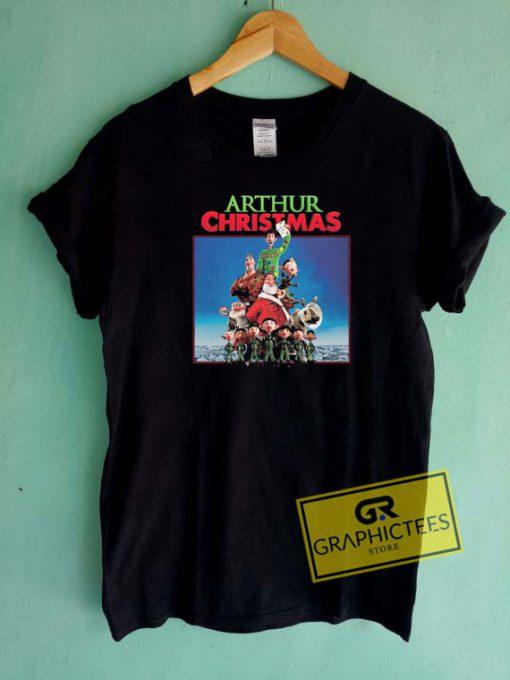 Arthur Christmas Movie Xmas Tee Shirts