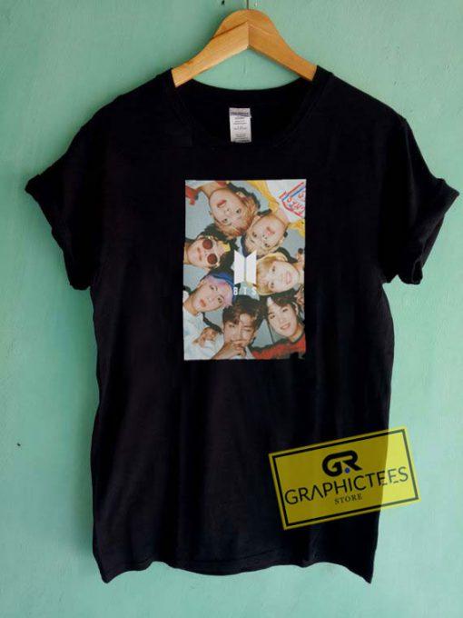 BTS Group Selfie Tee Shirts