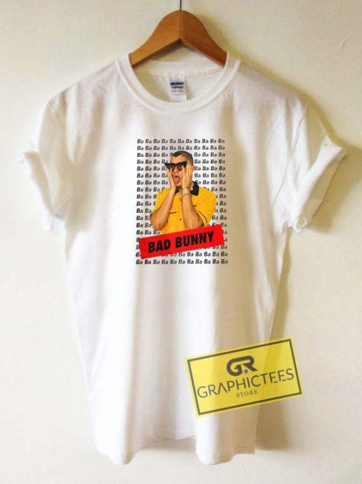 Ba Ba Ba Bad Bunny Tee Shirts