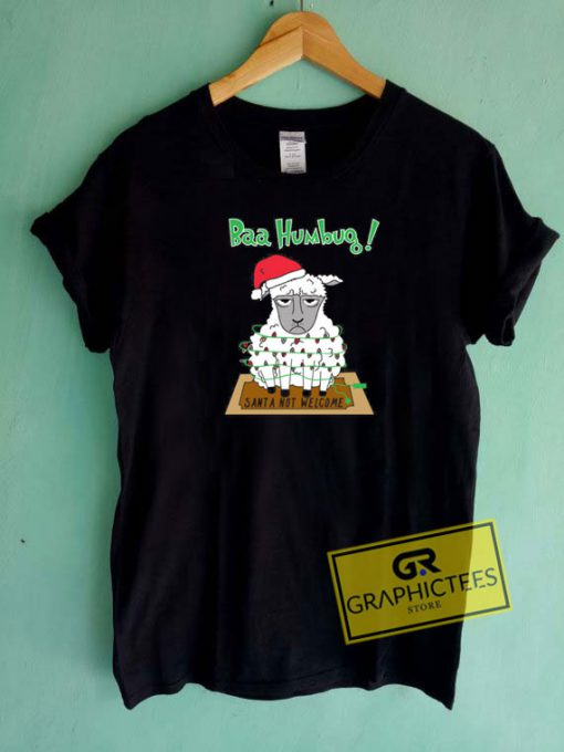 Baa Humbug Christmas Tee Shirts