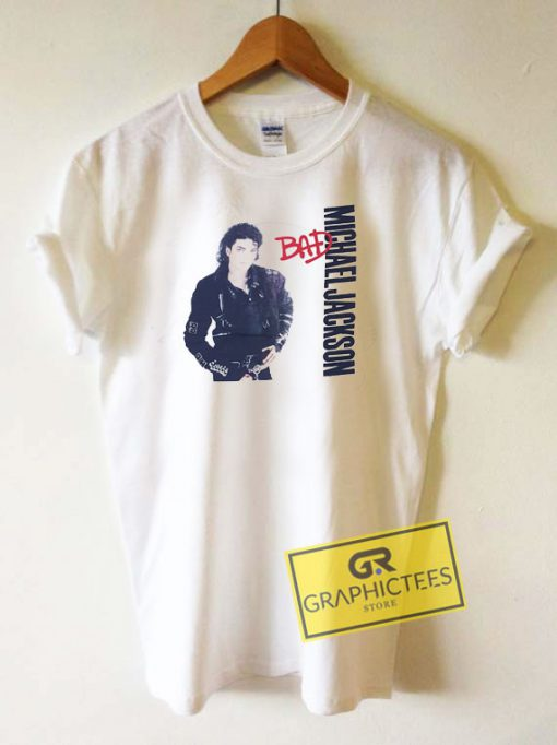 Bad Michael Jackson Tee Shirts