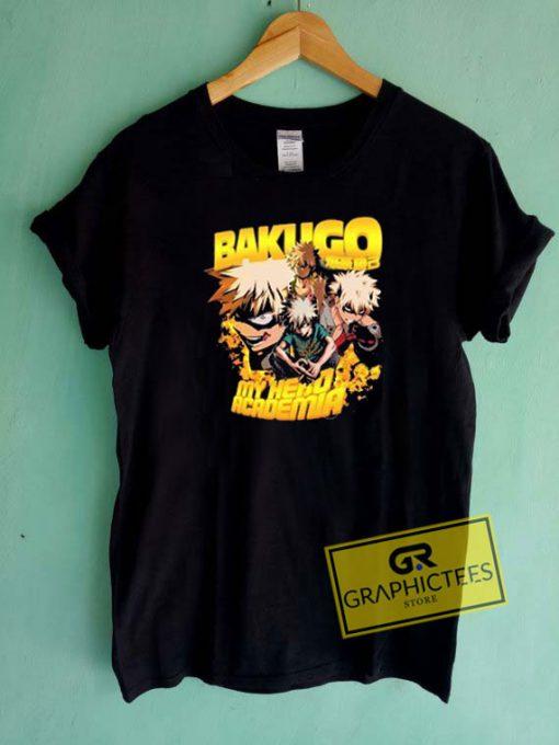 Bakugo My Hero Academia Tee Shirts