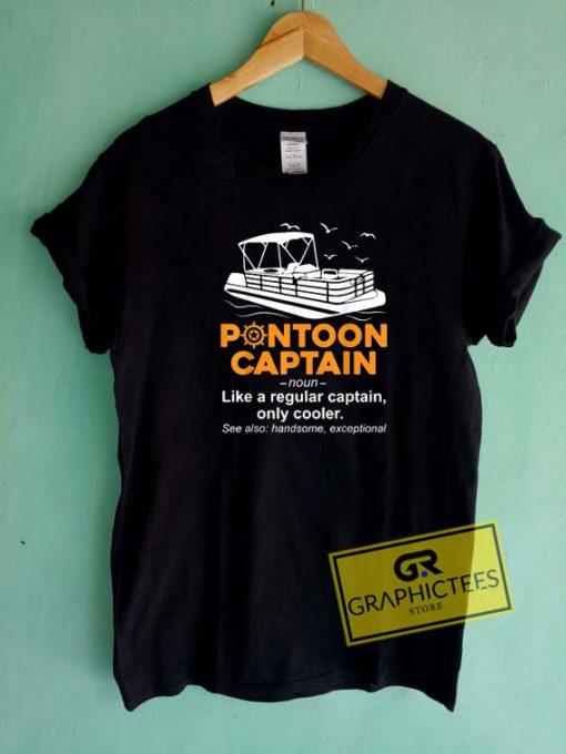 Best Pontoon Captain Tee Shirts