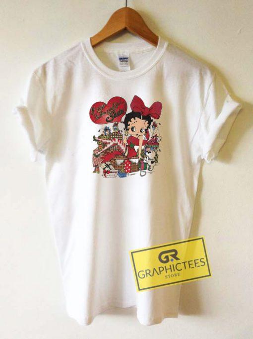 Betty Boop XMas Tee Shirts