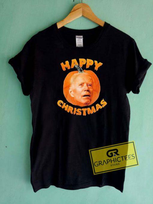 Biden Pumpkin Christmas Tee Shirts