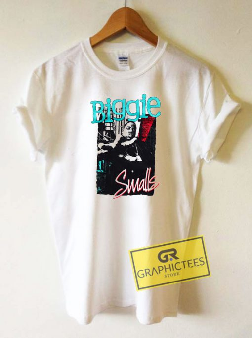 Biggie Smalls Hand Out Tee Shirts