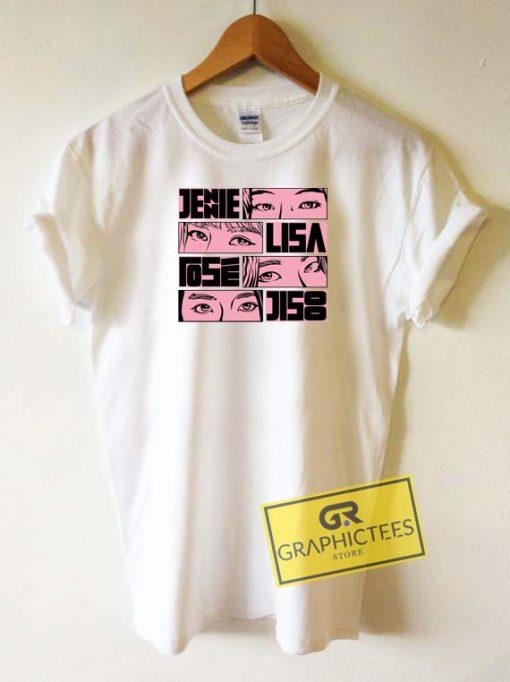 Blackpink Member Tee Shirts