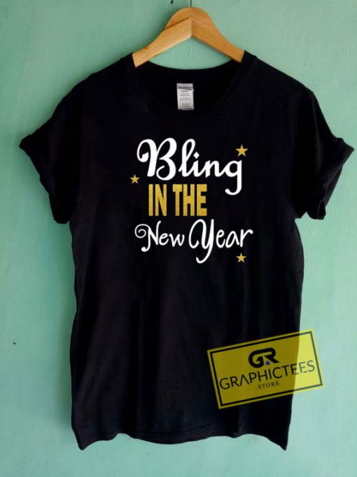Bling In The New Year Tee Shirts