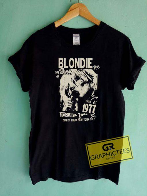 Blondie In Los Angels Tee Shirts