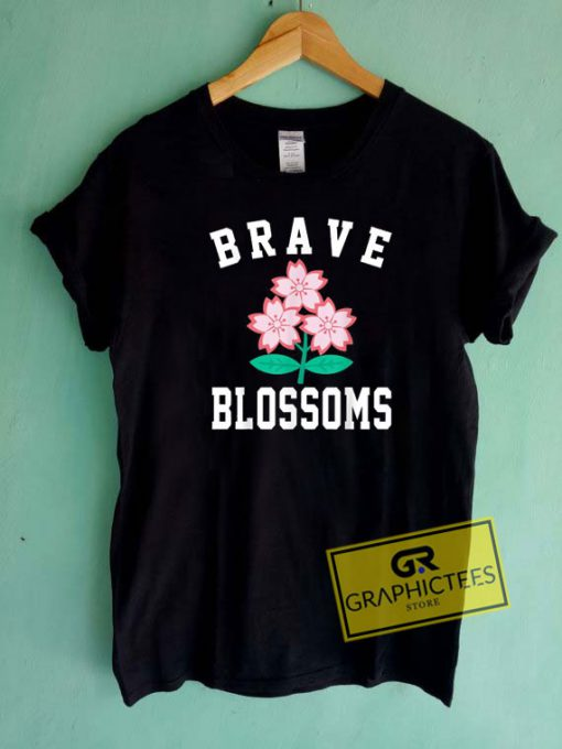 Brave Blossom Graphic Tee Shirts
