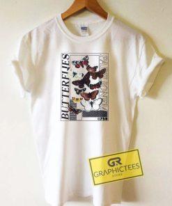 Butterflies Parilionem Tee Shirts