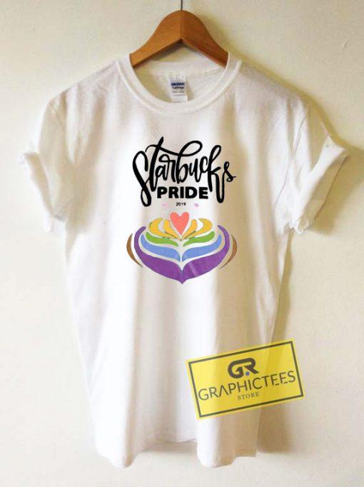 Canada Starbucks Pride Tee Shirts