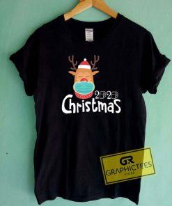 Christmas 2020 Reindeer Mask Tee Shirts