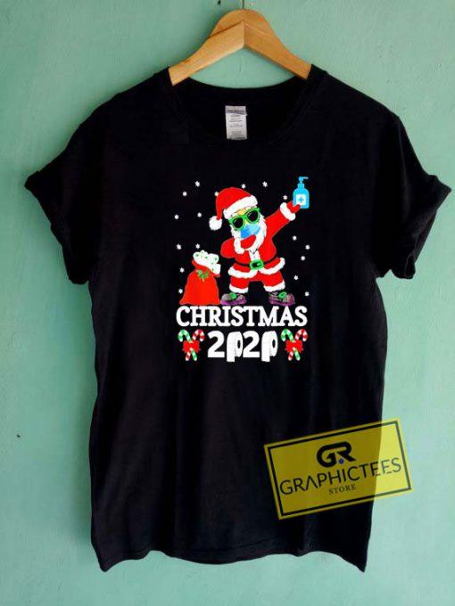 Christmas 2020 Santa Mask Tee Shirts