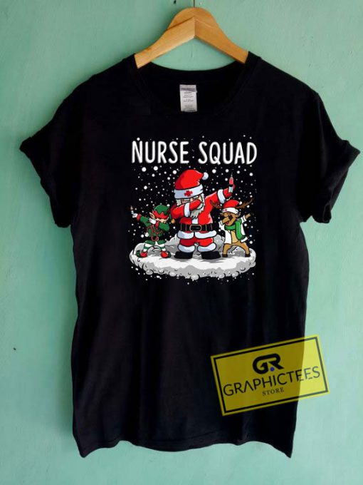 Christmas Nurse Squad Tee Shirts
