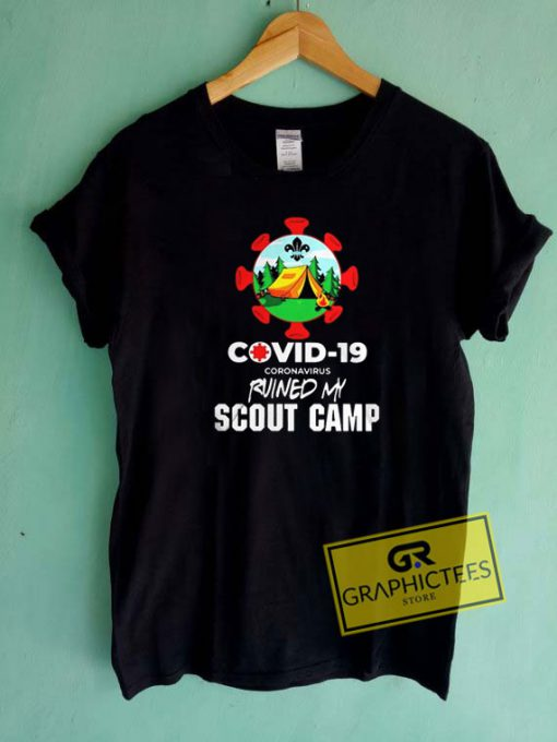 Covid19 My Scout Camp Tee Shirts