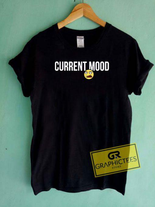 Current Mood Meh Emoji Tee Shirts