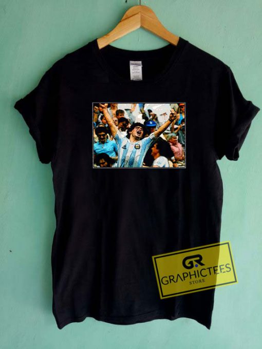 Diego Maradona Graphic Tee Shirts