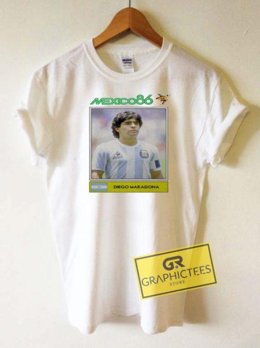 Diego Maradona Mexico 86 Tee Shirts