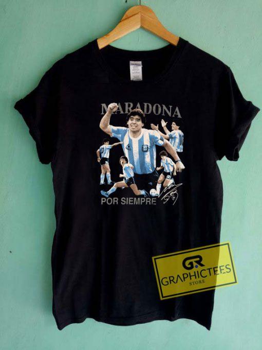 Diego Maradona Por Siempre Tee Shirts