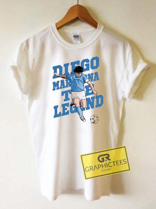 Diego Maradona The Legend Tee Shirts