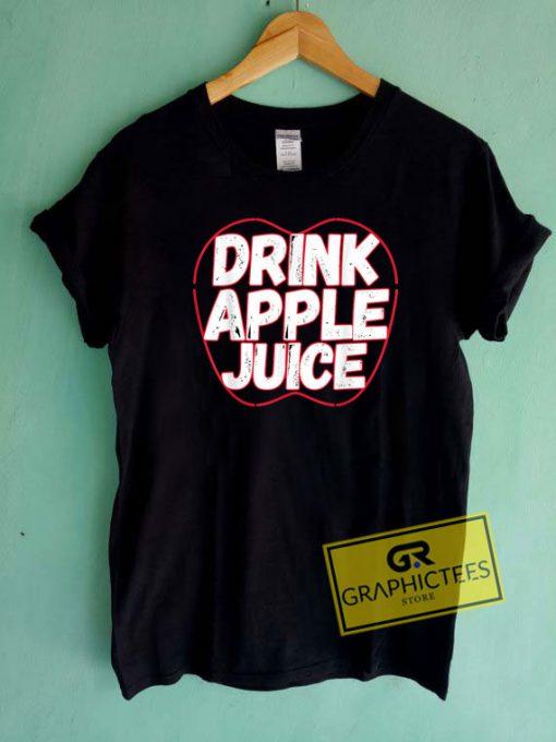 Drink Apple Juice Logo Tee Shirts